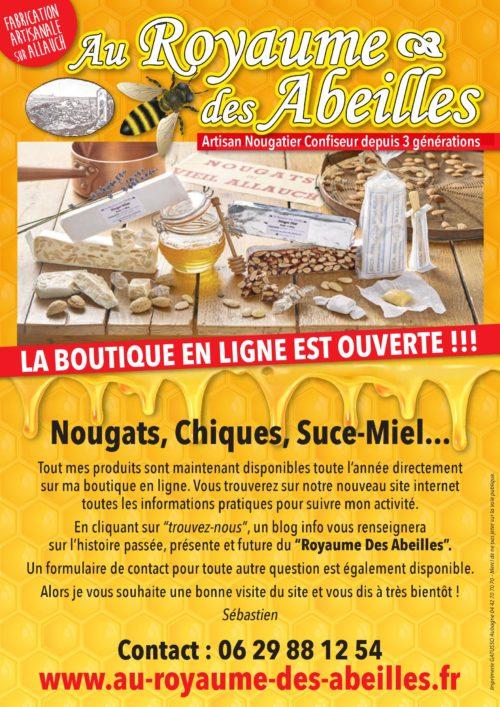 Flyer 2018 Promotions en cours Nougat Chiques et Suce-miel